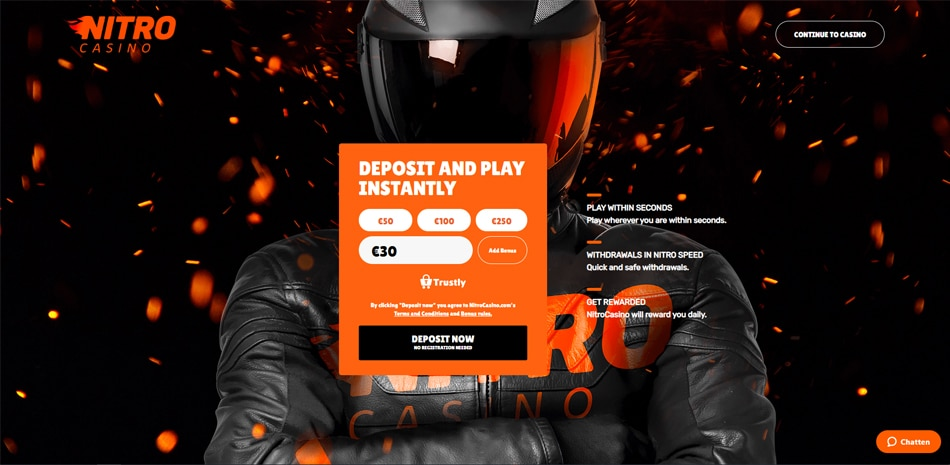 nitro casino pay n play