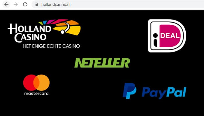 holland casino geld storten