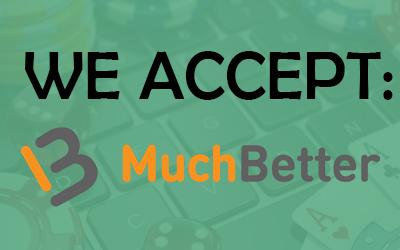 muchbetter online casino's